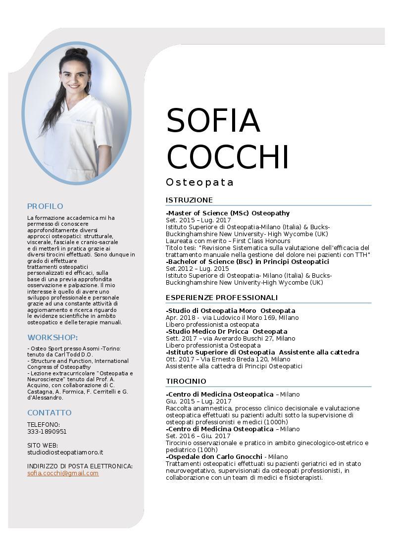 Sofia Cocchi