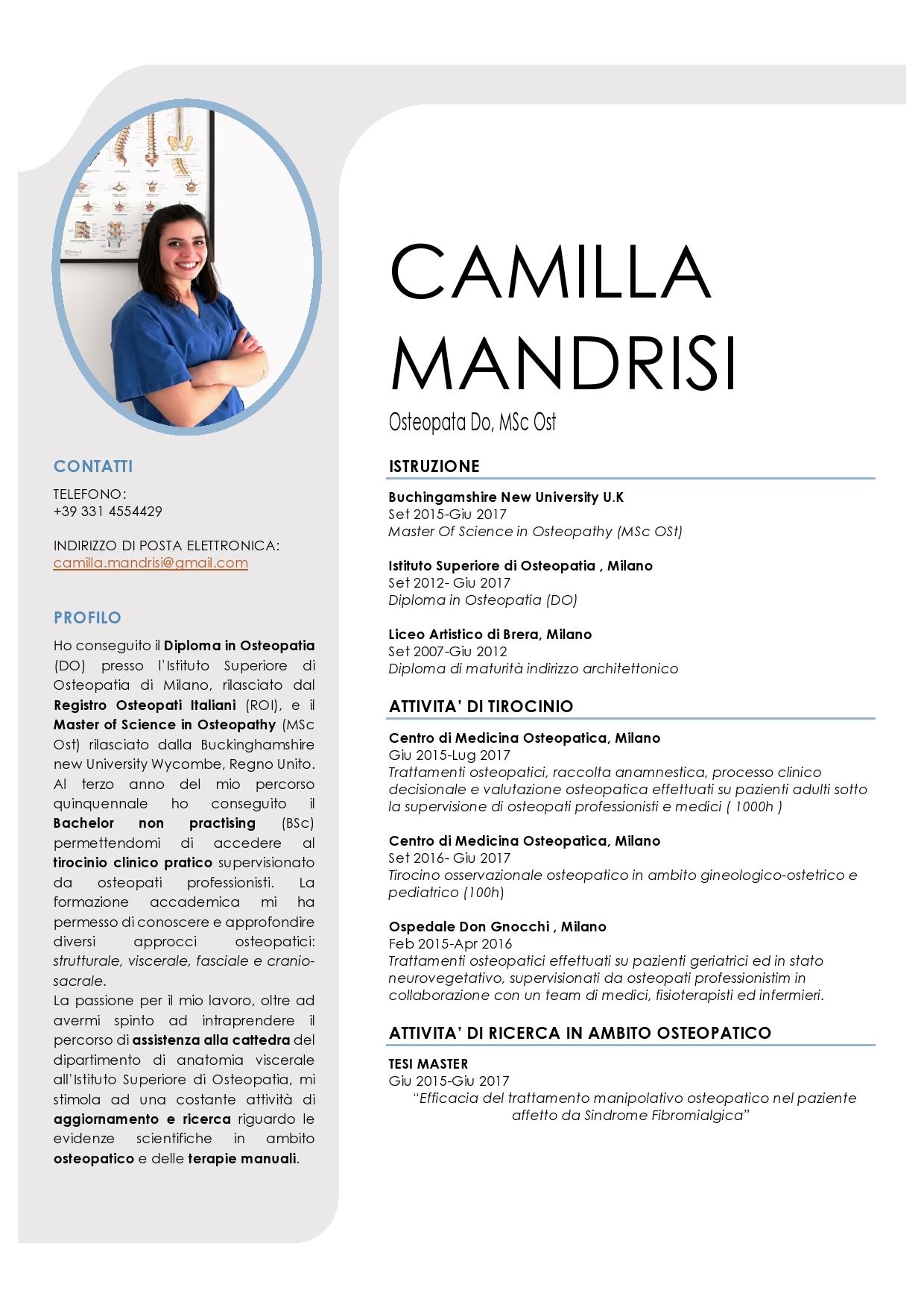 Camilla Mandrisi